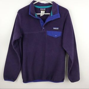 Jackets & Blazers - Patagonia • Purple Synchilla
